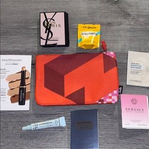 Ipsy makeup bag with samples!